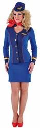 Stewardessenpakje Sky Blue