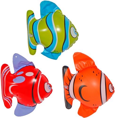 Opblaasbare Vissen 20cm 3st
