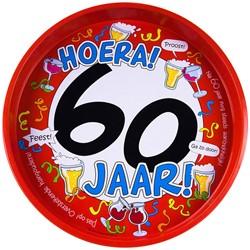 Dienblad Hoera! 60 jaar!