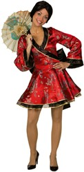 Sexy Geisha Luxe  Rood