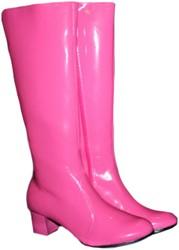 Dames Laarzen Disco Roze