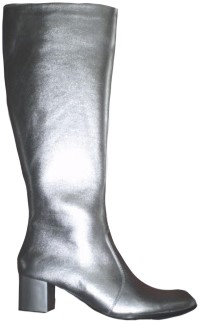Laarzen Metallic Zilver