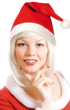 Kerstmuts+pompom