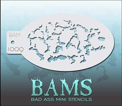 Bad Ass Schmink Stencil 1009