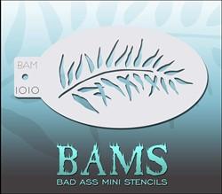 Bad Ass Schmink Stencil 1010