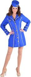 Stewardess Jurkje Blauw voor dames