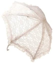 Bydemeyer Paraplu wit klein scherm