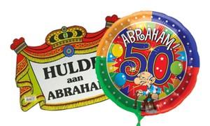 Abraham – 50 jaar man artikelen kopen bij Carnavalsland