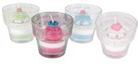 Happy Birthday Kaarsje Cupcake Pink-2