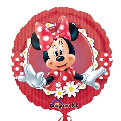 Folieballon Minnie mouse bloem
