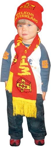 Sjaal + Muts Welkom Sinterklaas