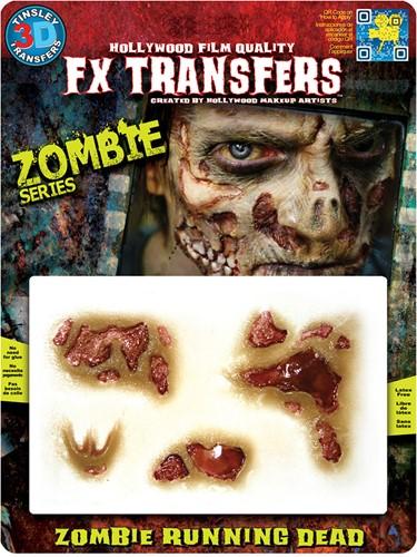 Professionele Wond FX - Zombie Running Dead