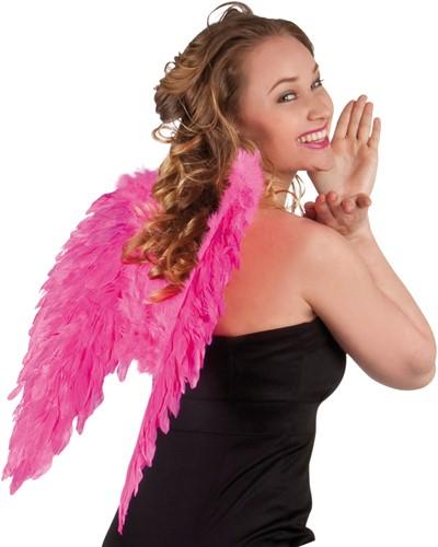 Engelen Vleugels Pink (50x50cm)