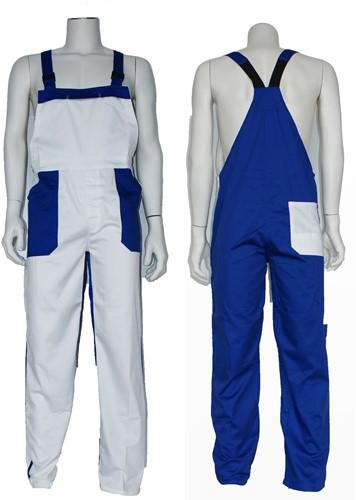 Tuinbroek Blauw-Wit
