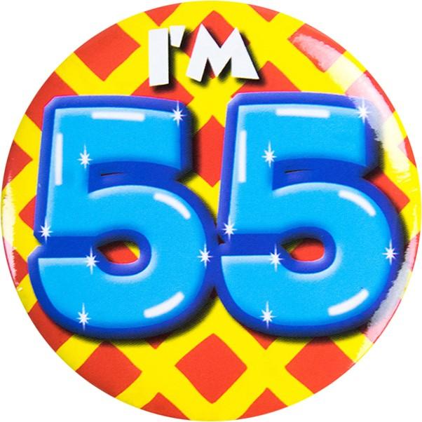 Populair Button 55 jaar #OW65