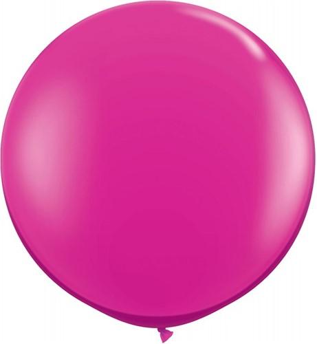 Topballon 90cm Pink