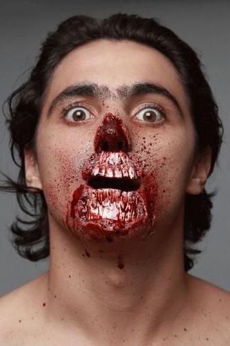 Professionele Latex Wond FX - Meat Lover