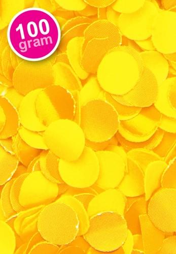 Confetti 100 gr Brandveilig Geel