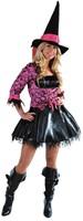 Dameskostuum Sexy Heks / Piraat Pink Skull-2