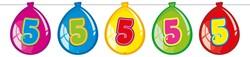 Ballonnen Vlaggenlijn 5 Jaar (10m)