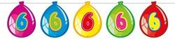 Ballonnen Vlaggenlijn 6 Jaar (10m)