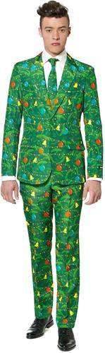 Herenkostuum Suitmeister Christmas Green Tree