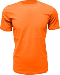 Heren T-Shirt Oranje (Slim Fit)