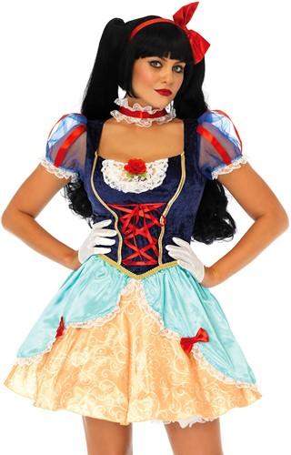 Damesjurkje Sneeuwwitje - Lolita Snow White-2