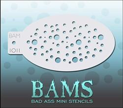 Bad Ass Schmink Stencil 1011