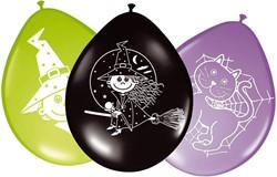 Ballonnen 8st Witches