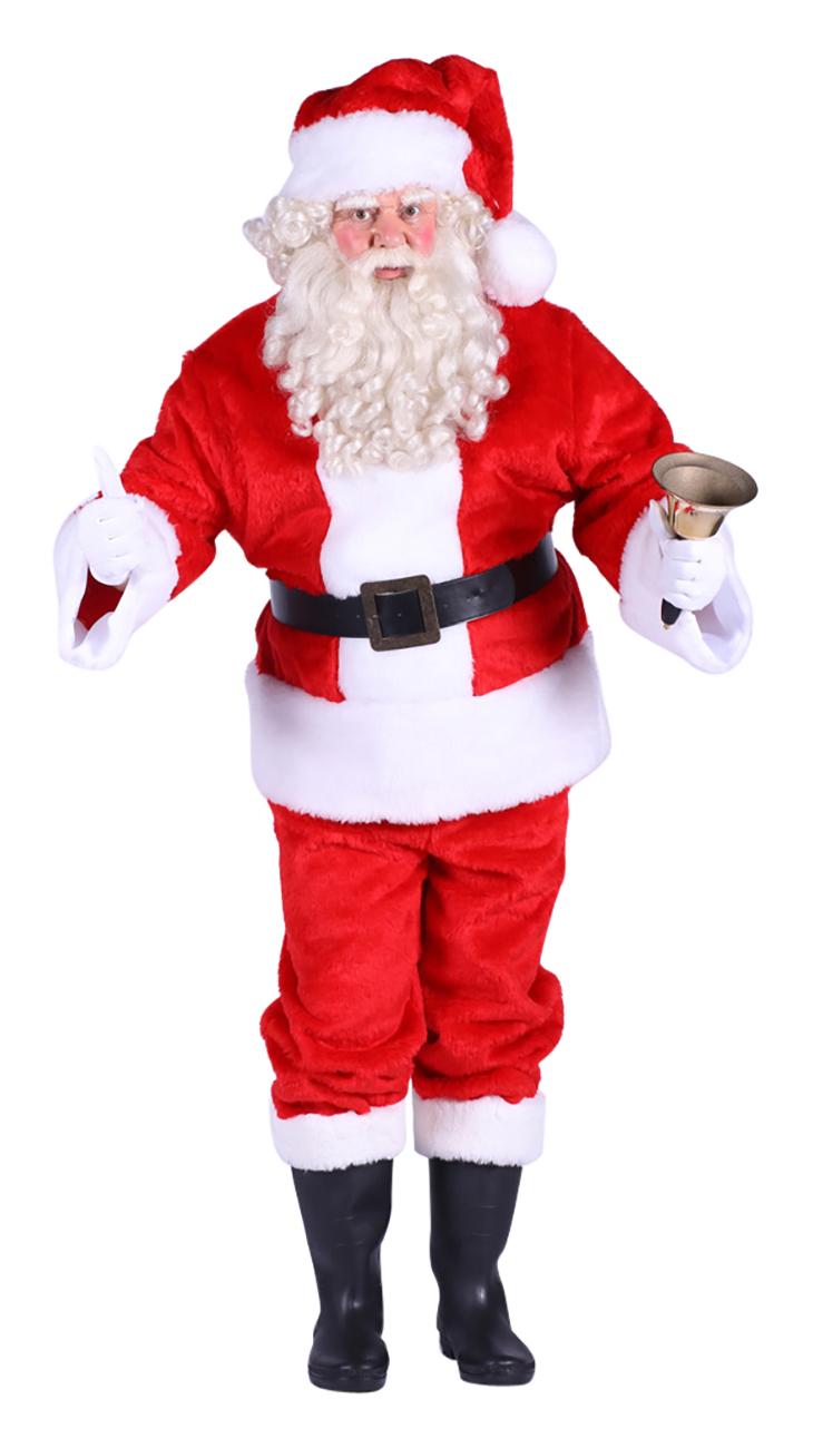 Kerstman Pak Pluche Luxe