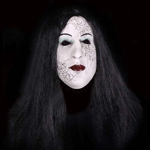 Porceleinen Poppen Masker (Latex)