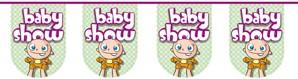 Vlaggenlijn Baby Show 8mtr
