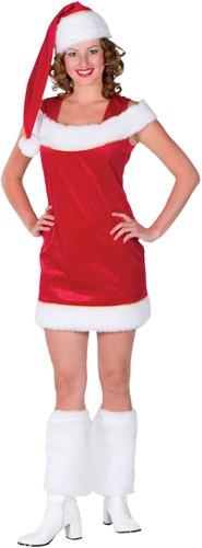 Dameskostuum Sexy Kerstvrouw Luxe