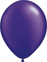 Ballonnen Donker Paars Decoratie 100st 30cm
