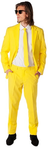 Herenkostuum OppoSuits Yellow Fellow
