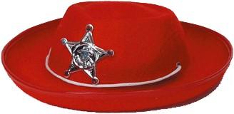 Cowboyhoed Sheriff Rood Kind