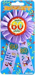 Rozet 60 jaar!