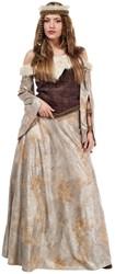 Dameskostuum Middeleeuwse Krijgster Luxe