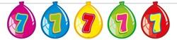 Ballonnen Vlaggenlijn 7 Jaar (10m)