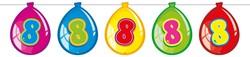 Ballonnen Vlaggenlijn 8 Jaar (10m)