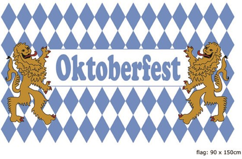 Vlag Oktober Fest