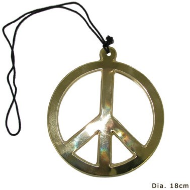 Peace Ketting Plastic