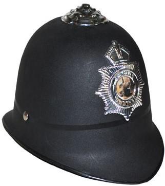Politiehelm Bobby Plastic
