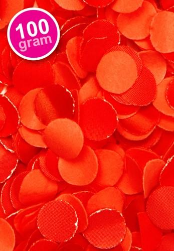 Confetti 100 gr Rood