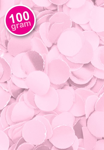 Confetti 100 gr Roze