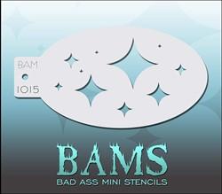 Bad Ass Schmink Stencil 1015