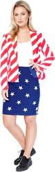 Dameskostuum OppoSuits American Woman
