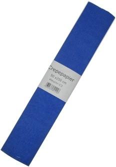 Crepe Papier Blauw