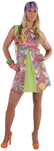 Seventies jurkje Funky Colors